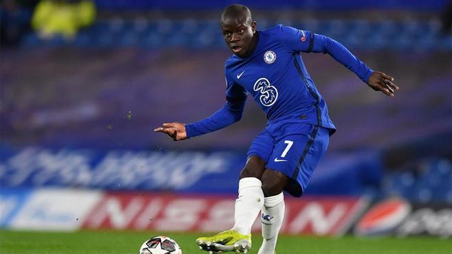 Kanté, jugador clave del Chelsea