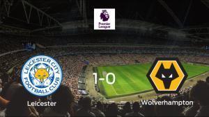 El Leicester City vence 1-0 al Wolverhampton Wanderers y se lleva los tres puntos