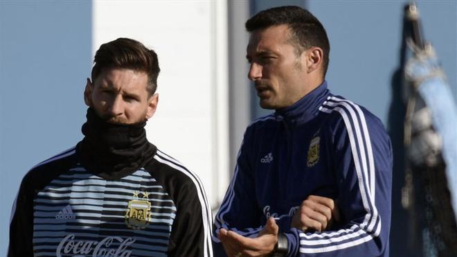 Scaloni/Messi, objetivo la Copa América