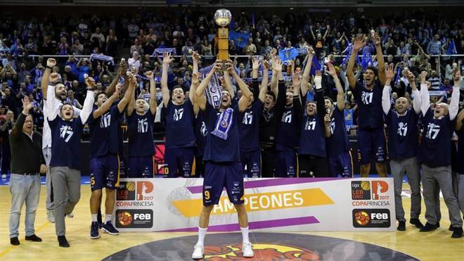 Oviedo Baloncesto ganó la Copa Princesa de Asturias en el año 2017