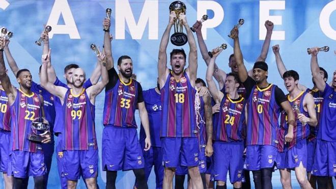 El Barça 2021 ya tiene la Copa. ¿Llegarán la Euroliga y la Liga Endesa?
