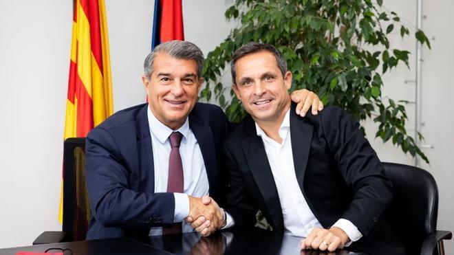 Sergi Barjuan firma como nuevo entrenador del Barça B