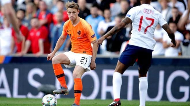 La exhibición del MVP De Jong contra Inglaterra