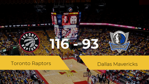 Victoria de Toronto Raptors ante Dallas Mavericks por 116-93