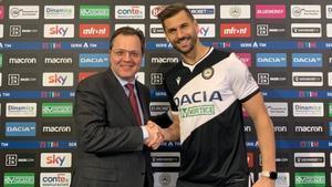 Fernando Llorente, flamante fichaje del Udinese
