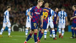 El último partido que acogió el Camp Nou fue el Barça - Real Sociedad de Liga