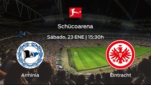 Previa del encuentro: el Arminia Bielefeld recibe al Eintracht Frankfurt en la decimoctava jornada