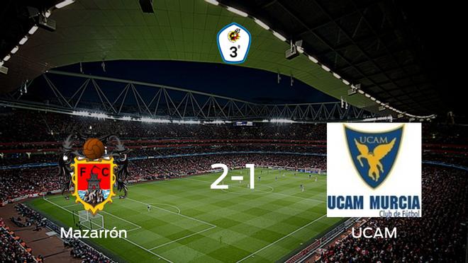 El Mazarrón FC gana 2-1 en casa al UCAM B
