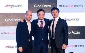 Pere Guardiola, Jiang Lizhang y Gino Pozzo presentaron su acuerdo en Shanghai