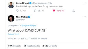 La respuesta de Mahut a la crítica de Piqué