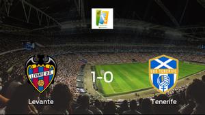 El Levante Femenino vence por la mínima al Granadilla Tenerife (1-0)
