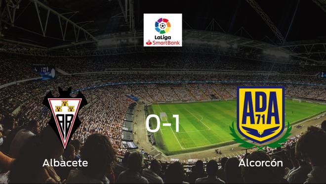 El Alcorcón se queda con los tres puntos después de ganar 0-1 al Albacete