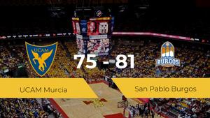Triunfo del San Pablo Burgos ante el UCAM Murcia por 75-81