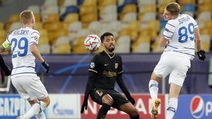 Matheus disputó sus primeros minutos en partido oficial