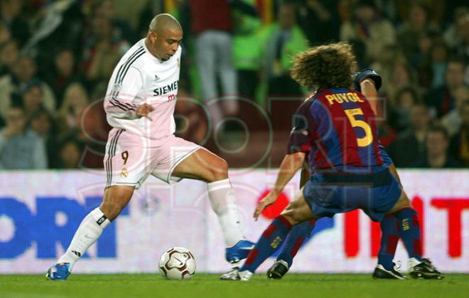 Los FC Barcelona - Real Madrid en imágenes