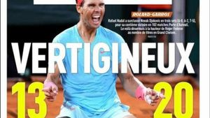 La portada de LÉquipe de hoy