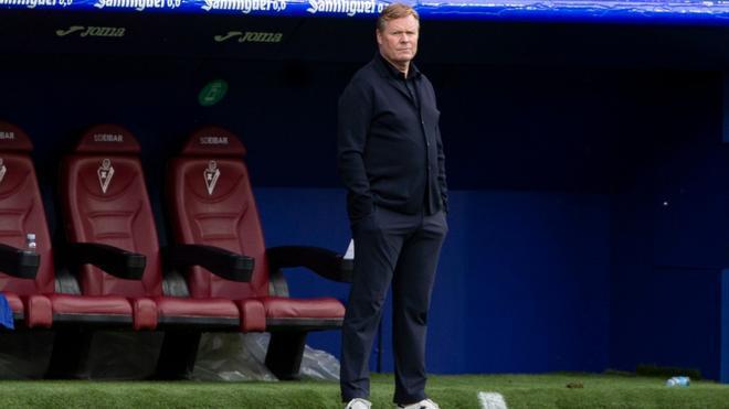 Koeman: Esta plantilla no es del nivel que queremos en el Barcelona