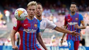 De Jong: Me siento orgulloso de llegar a los 100 partidos con el Barça