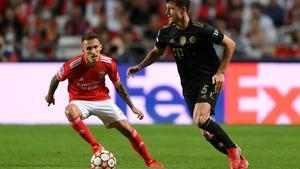 El resumen del partido entre el Benfica y el Bayern