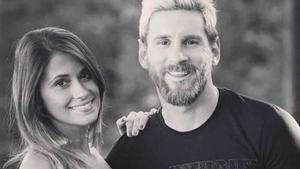 Antonela y Messi, en una fotografía reciente
