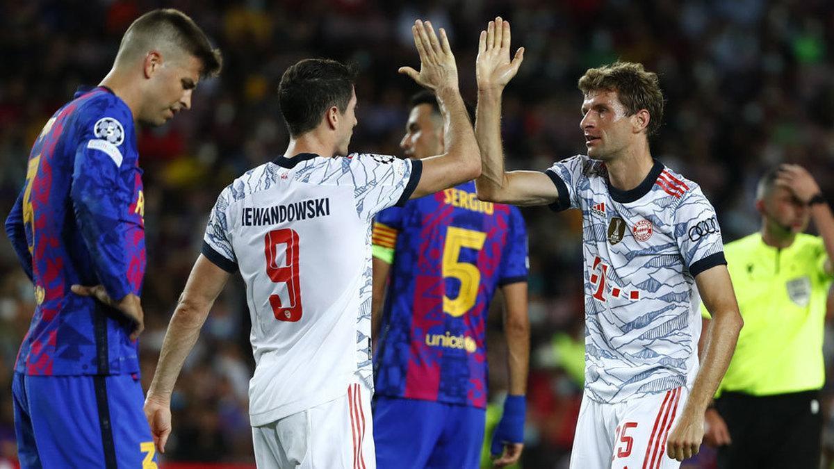 Un imponente Bayern afianzó contra el Barcelona su favoritismo para llevarse el Grupo E