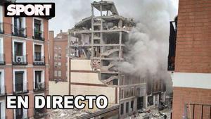 Explosión en el centro de Madrid - En directo