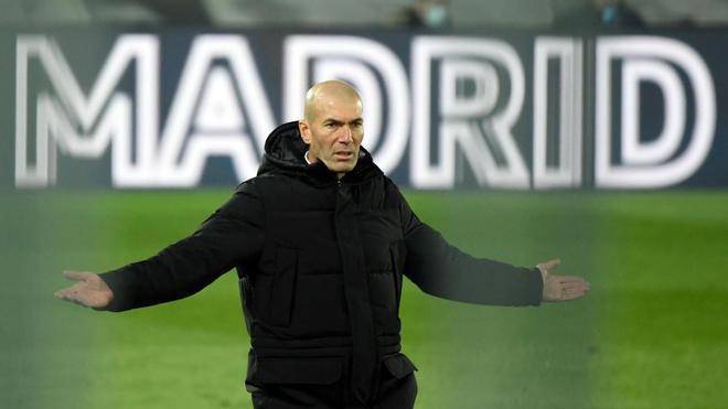 Zidane, positivo por coronavirus