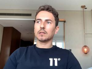 Lorenzo, durante su entrevista