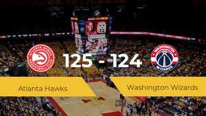Atlanta Hawks logra derrotar a Washington Wizards (125-124)