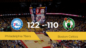 Philadelphia 76ers gana a Boston Celtics (122-110)
