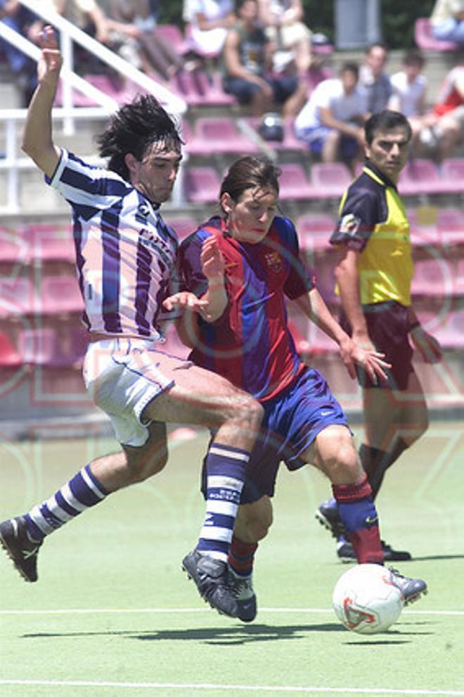 18.Leo Messi 2003-2004
