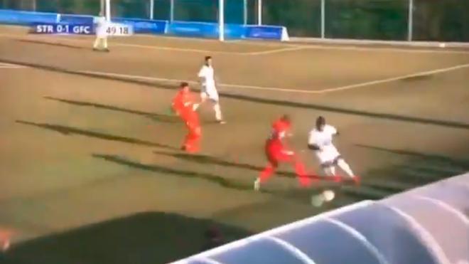 Patadón sin balón de Nyom y Damián Suárez golpea al jugador con el balón: Arranca la pretemporada del Getafe