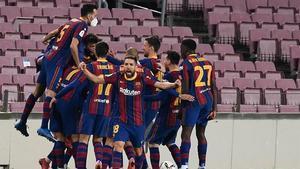 El Barça pasa por el mejor momento de la temporada