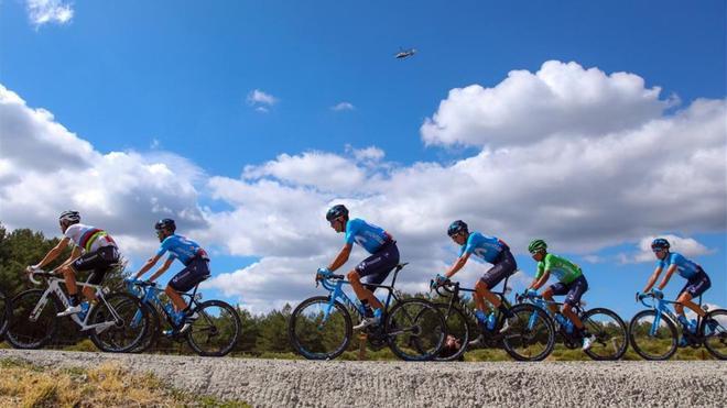 Imagen de archivo de la pasada Vuelta a España