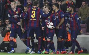 El Barça de Luis Enrique está pletórico