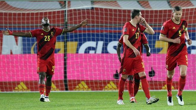 La selección de fútbol de Bélgica no pierde una disputa desde octubre del año pasado