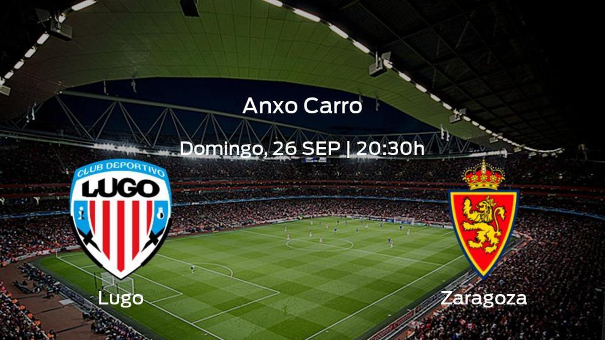 Previa del encuentro: el Lugo recibe al Real Zaragoza en la séptima jornada
