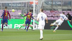 Fede Valverde fusiló a Neto a los cinco minutos de empezar el clásico