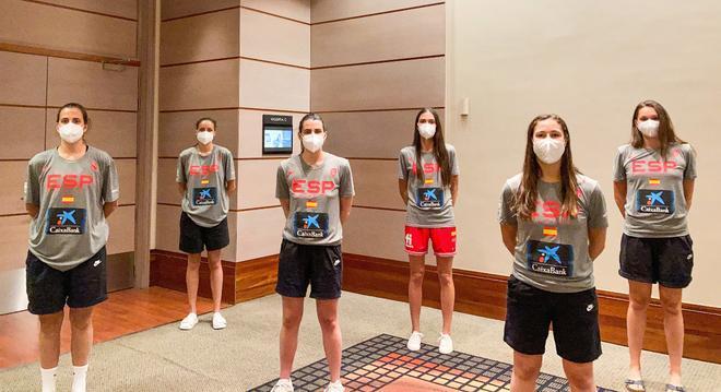 Las seis jugadoras de la burbuja paralela se encuentran en Valencia
