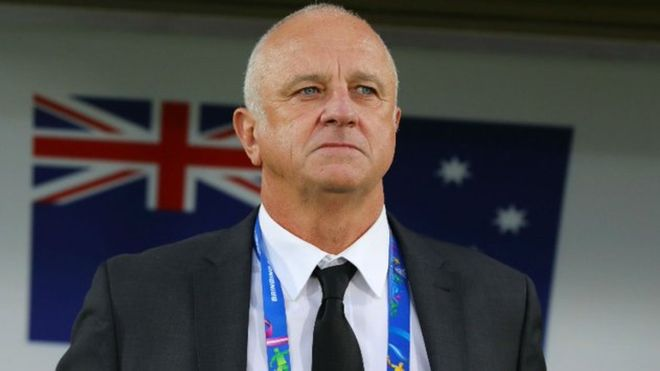 Graham Arnold, entrenador de la selección Sub-23 de Australia.