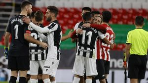 Athletic y Levante, tras el partido de ida de la eliminatoria