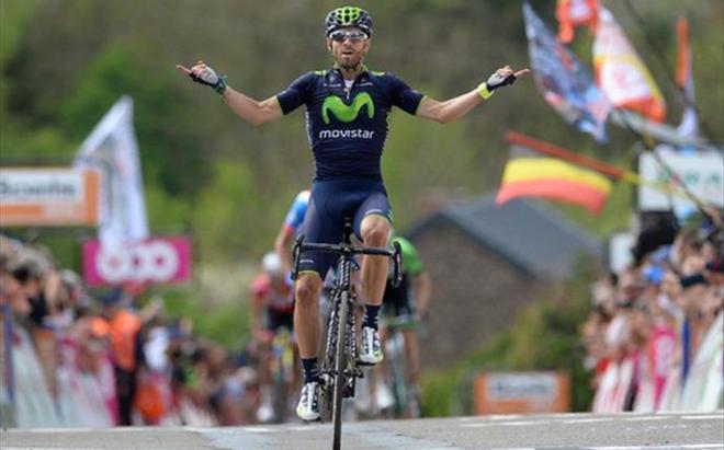 Al final, Valverde no encontró a rivales a su altura