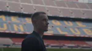 ¡Qué bonito! Ter Stegen demuestra una vez más su amor al Barça