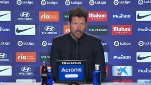 Simeone: Hoy no quiso entrar el segundo gol