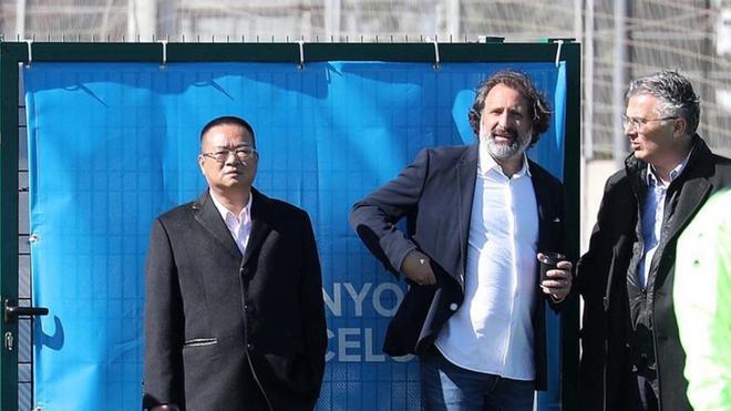 Rufete y Mr. Chen, en una imagen de archivo