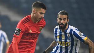 El Benfica disputa mañana la semifinal de la Copa de la Liga de Portugal frente al Braga