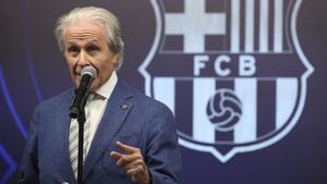 Ramon Alfonseda, presidente de la Agrupació de Jugadors del FC Barcelona