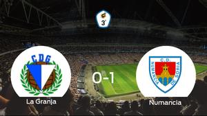 El Numancia B gana a La Granja (0-1)