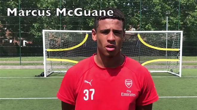 Así entrena Marcus McGuane