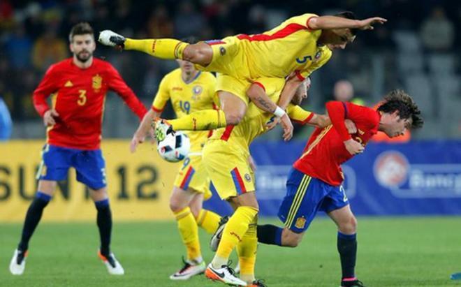 Sergi Roberto debutó con España ante Rumanía